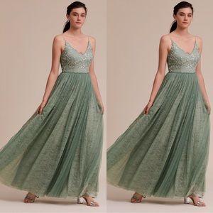 Anthropologie x BHLDN Adrianna Papell Cluny Dress